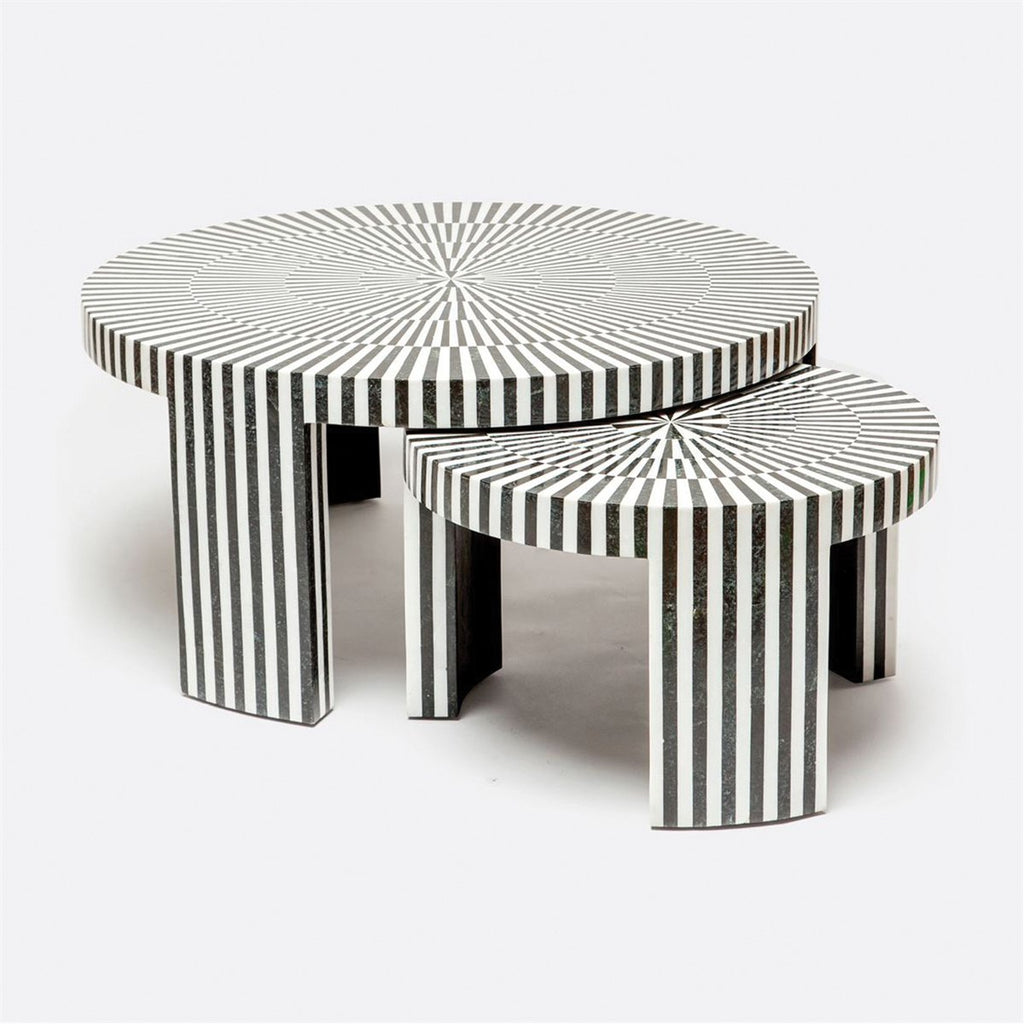 Made Goods Carlotta Marble Nesting Tables