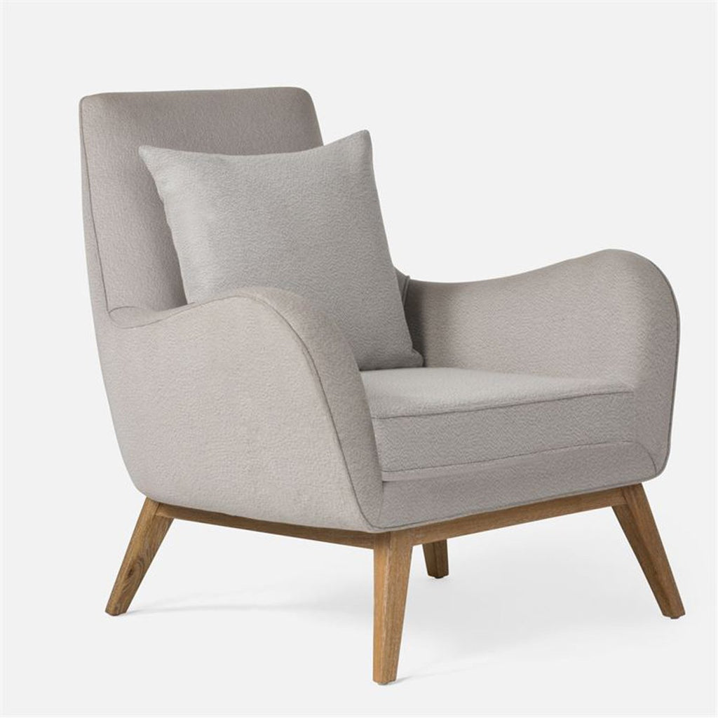 Made Goods Colten Lounge Chair in Aras Mohair