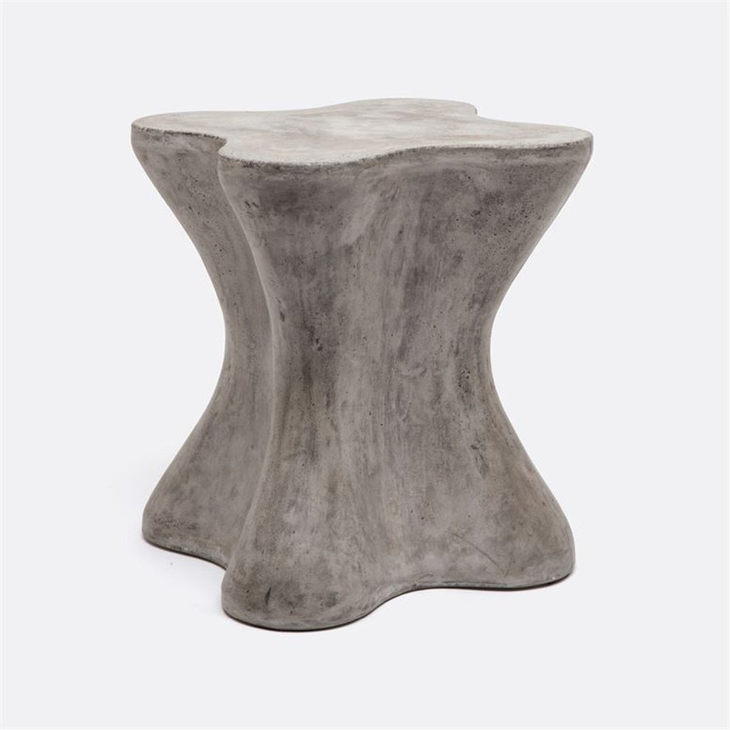 Made Goods Howe Organic Concrete Outdoor Stool