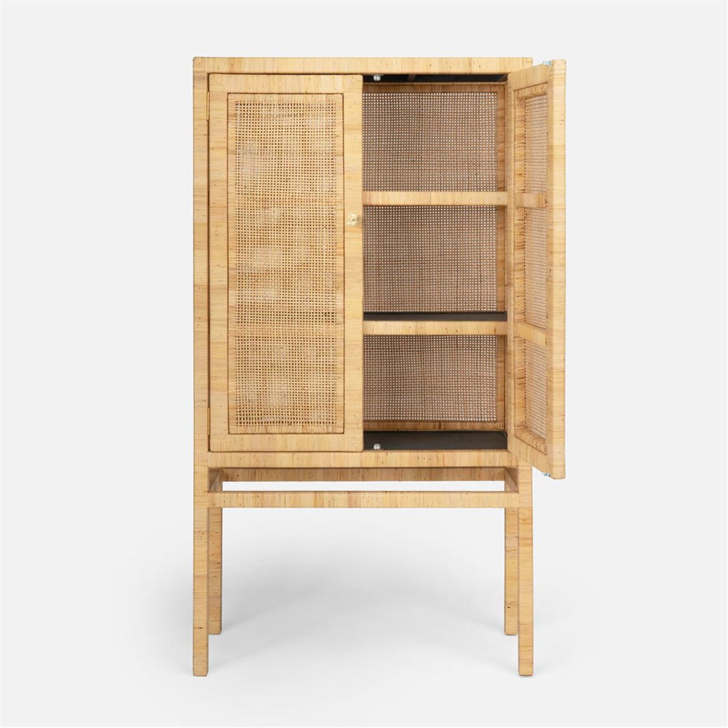 Made Goods Isla Rattan Standing Cabinet