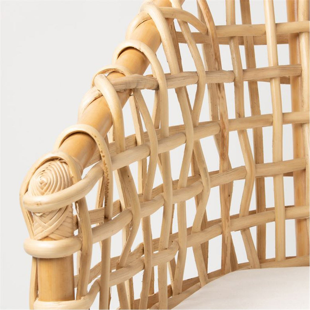 Made Goods Ismael Natural Rattan Lounge Chair