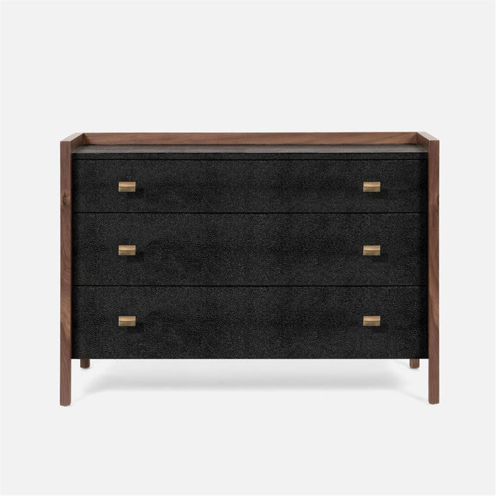 Made Goods Kennedy 48-Inch Vintage Faux Shagreen Dresser