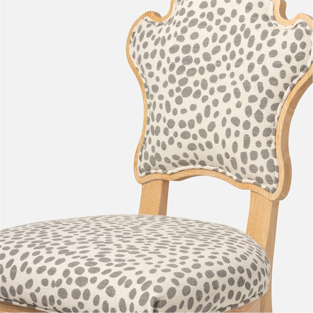 Made Goods Madisen Dining Chair in Aras Mohair