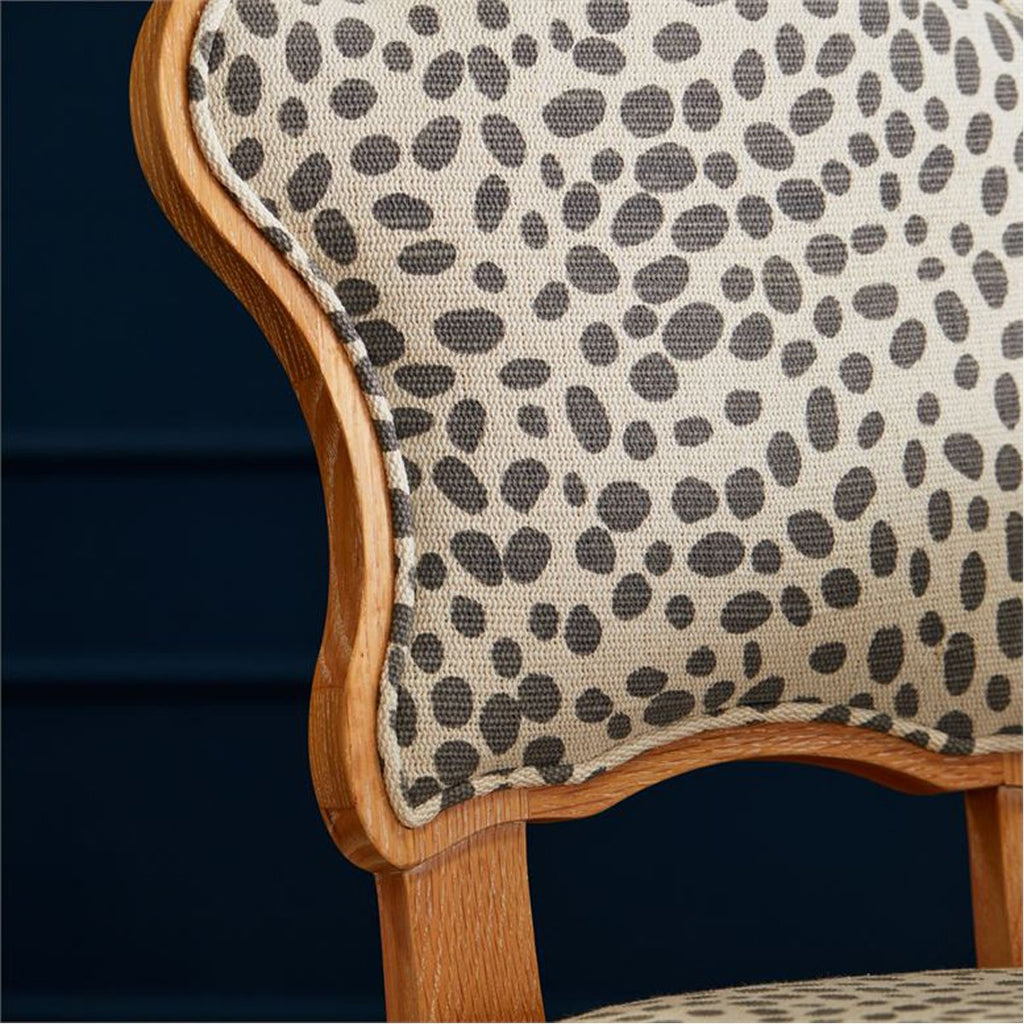 Made Goods Madisen Dining Chair in Nile Fabric