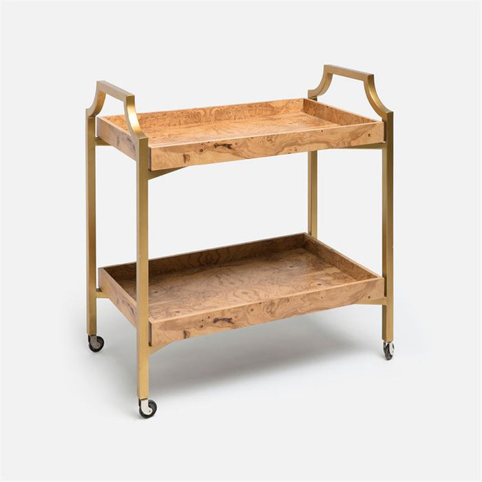 Made Goods Montaro Veneer Bar Cart