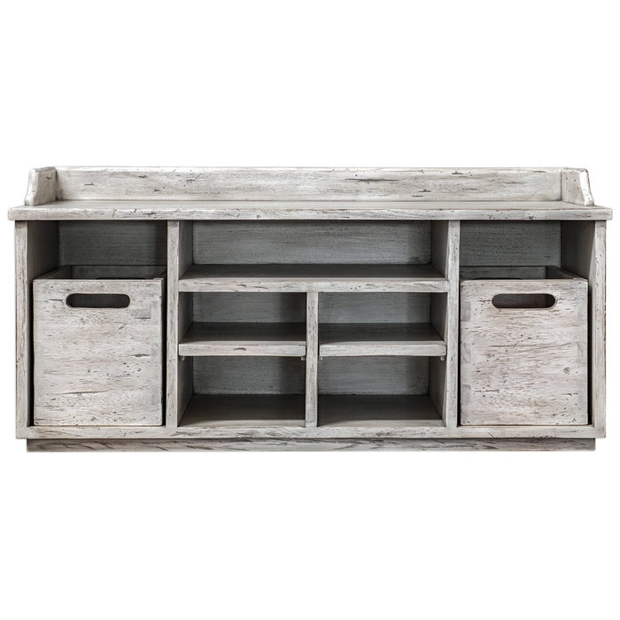 Uttermost Ardusin White Hobby Bench