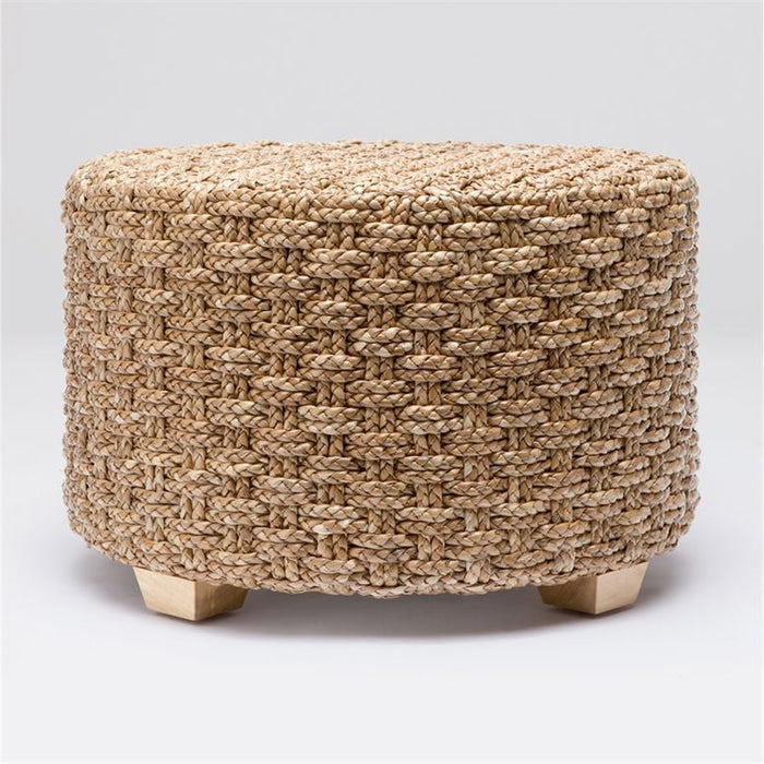 Made Goods Valerie Large Seagrass Ottoman