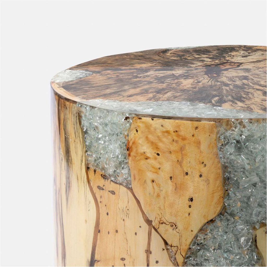 Made Goods Wyatt Tamarind Wood Stool