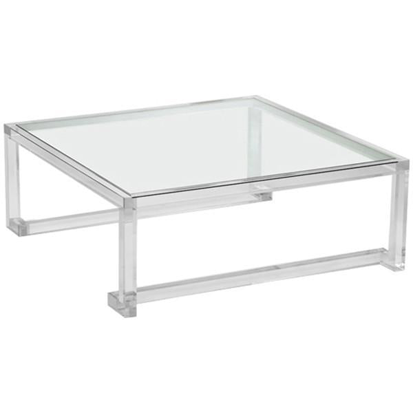 Interlude Home Large Ava Square Cocktail Table