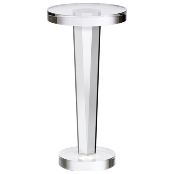 Interlude Home Liora Acrylic Drink Table