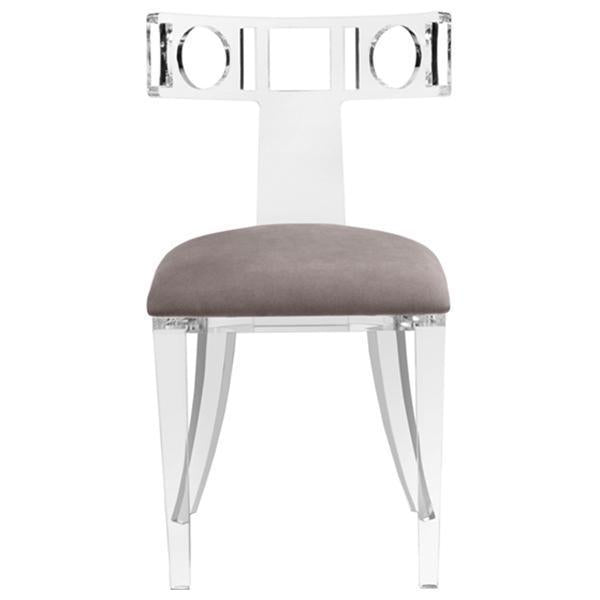Interlude Home Ardsley Acrylic Klismos Chair