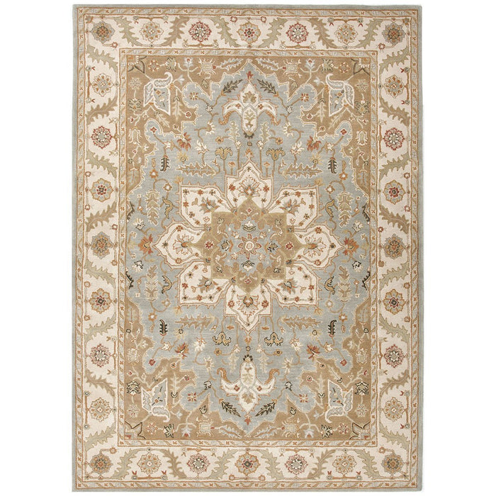 Jaipur Poeme Orleans Blue Surf/Cloud White PM50 Area Rug