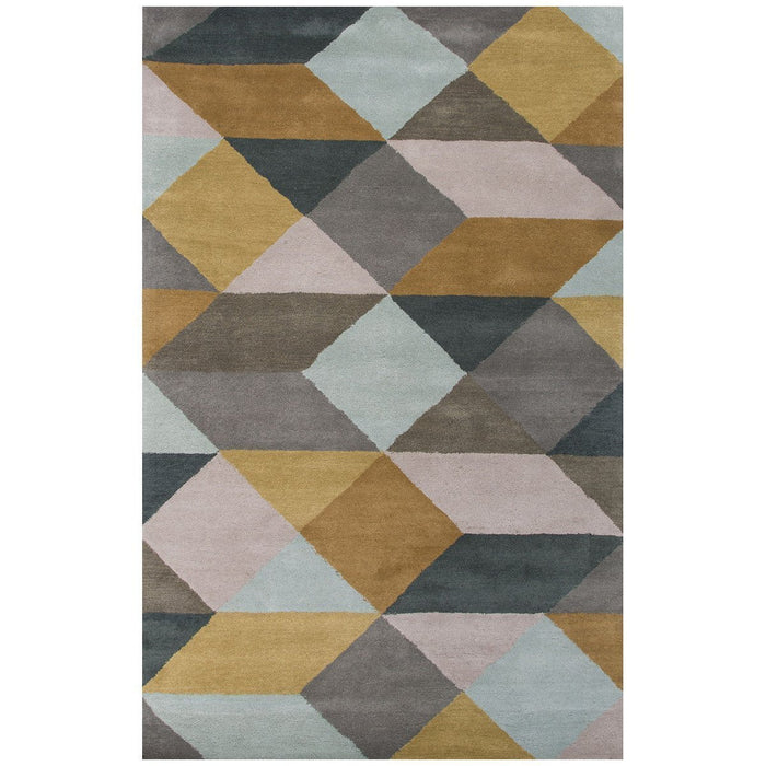Jaipur Tufted Ojo Sea Mist Green/Classic Gray LST16 Area Rug