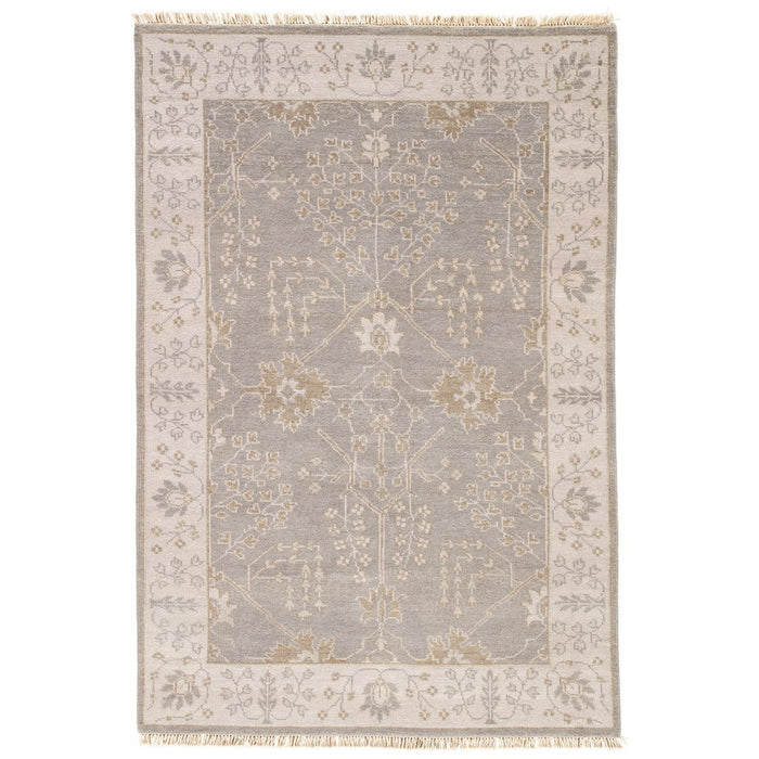 Jaipur Liberty Reagan Bordered LIB02 Gray/Beige Area Rug