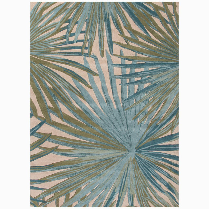 Jaipur Coastal Seaside Palmetto Rug