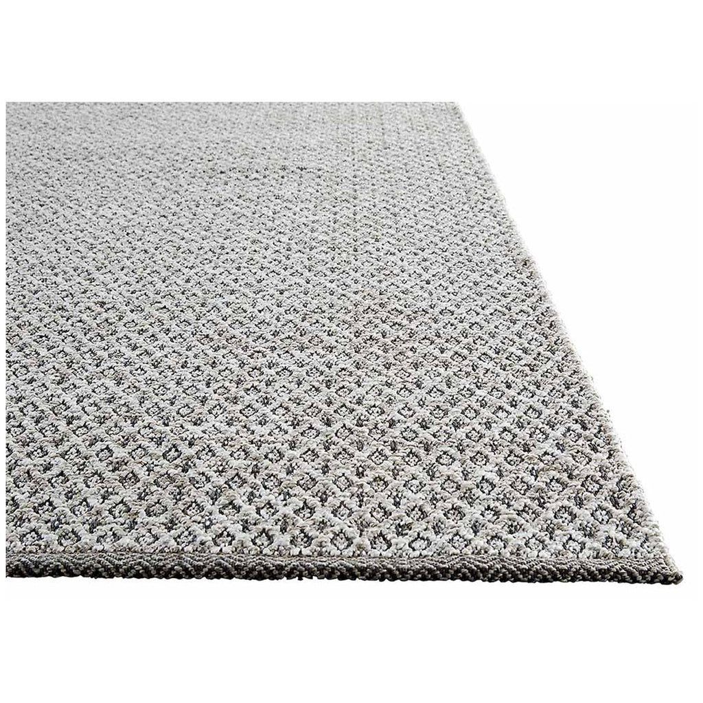 Jaipur Geometric Pattern Gray Neutral Polypropylene NIR02 Rug