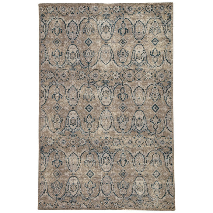 Jaipur Revolution Williamsburg Medallion REL06 Gray/Navy Area Rug