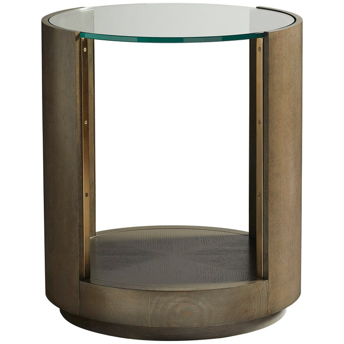 Vanguard Furniture Axis III Round Lamp Table