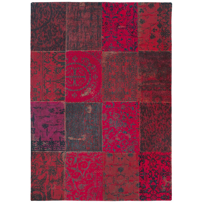 Louis de Poortere Vintage Multi 8014 Red Rug