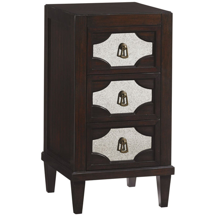 Lexington Kengsington Place Lucerne Mirrored Nightstand