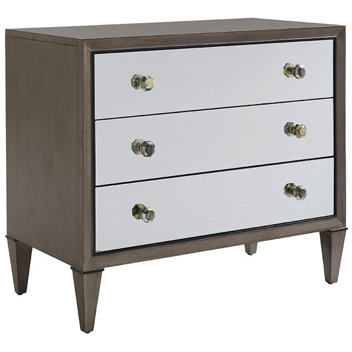 Lexington Ariana Divonne Mirrored Nightstand