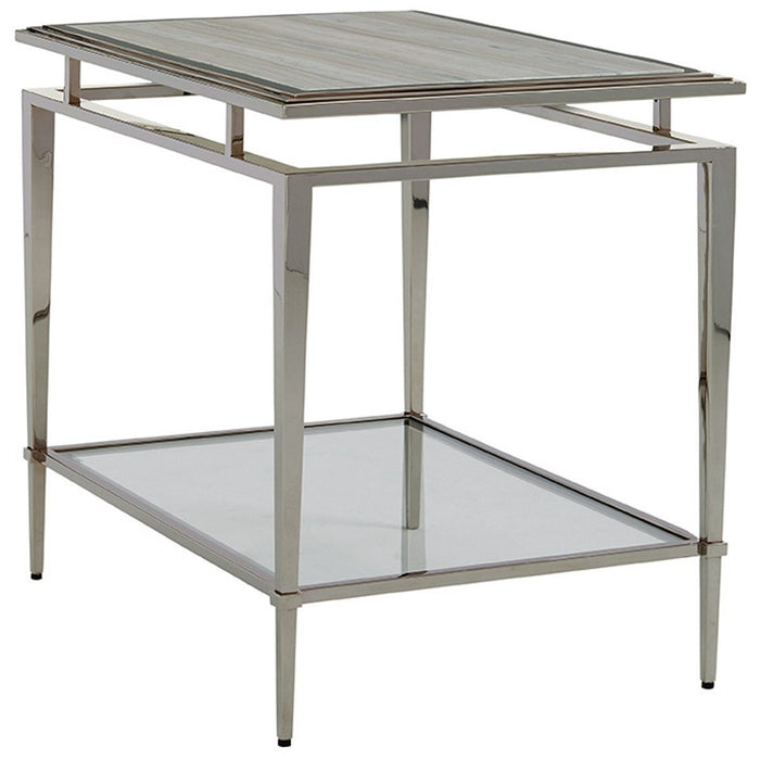Lexington Ariana Athene Stainless End Table