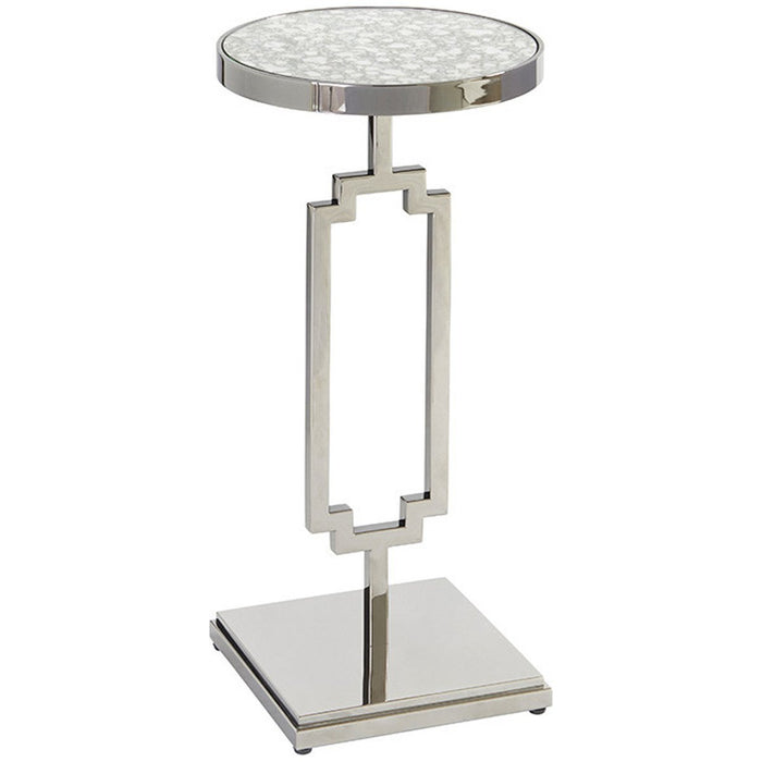 Lexington Barclay Butera Brentwood Stonehill Metal Accent Table
