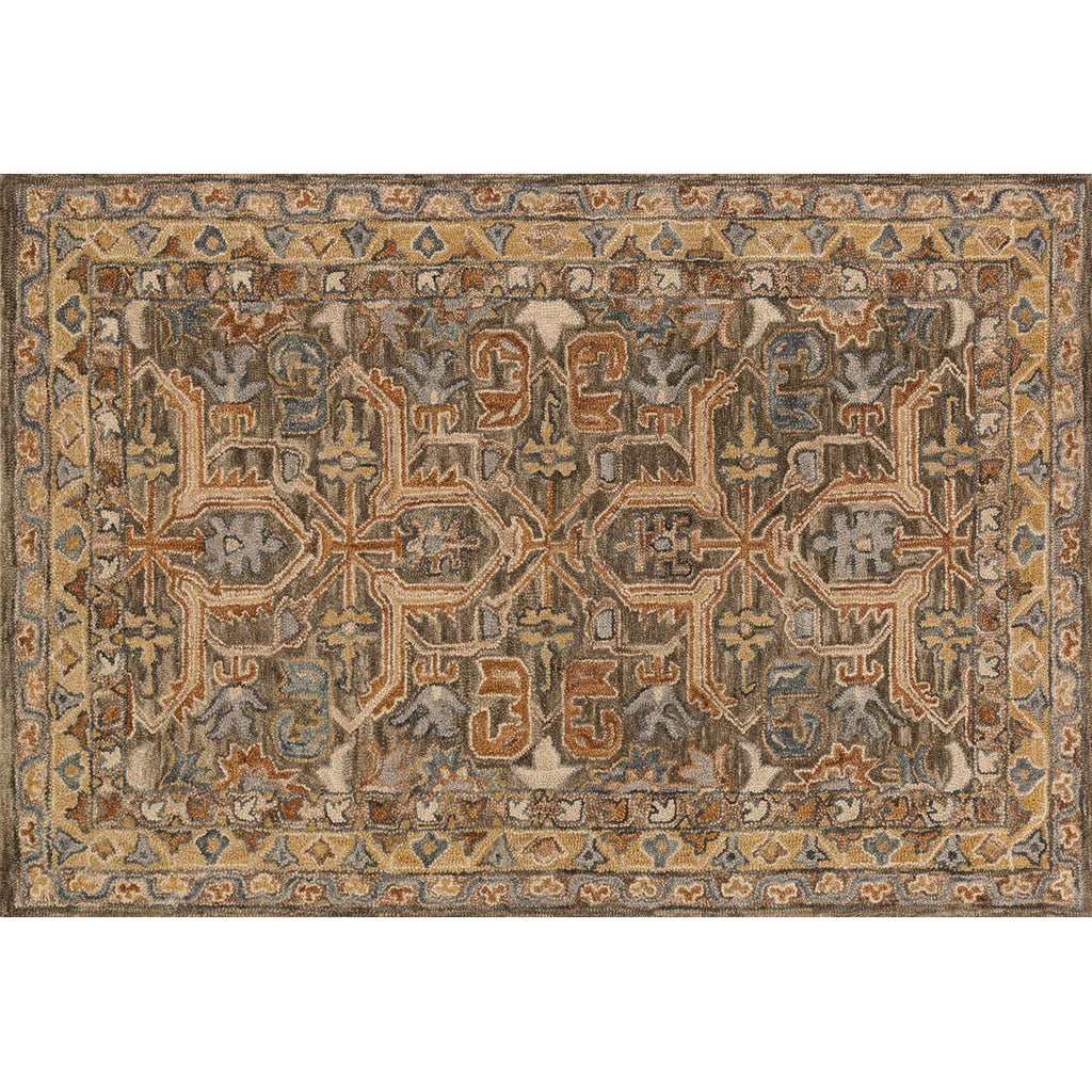 Loloi Victoria Walnut and Multi Rug