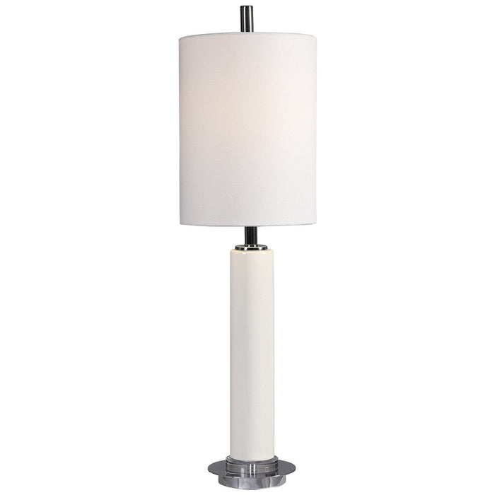 Uttermost Windsor Ivory Crackle Buffet Lamp