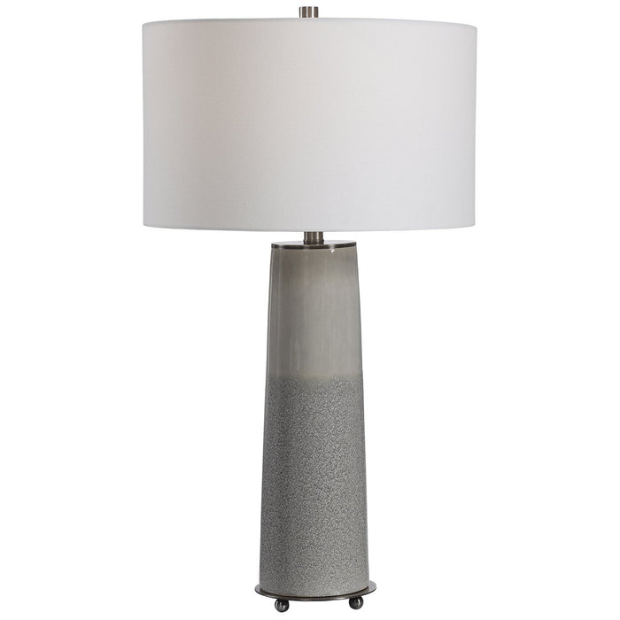 Uttermost Abdel Gray Glaze Table Lamp