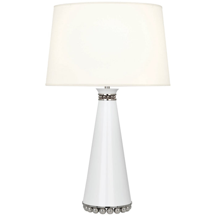 Robert Abbey Pearl Table Lamp with Fondine Fabric Shade