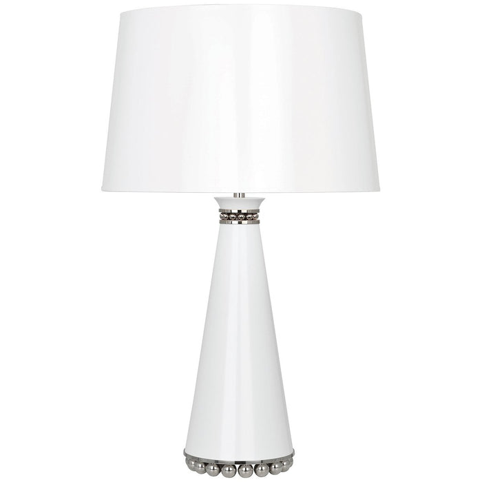 Robert Abbey Pearl Table Lamp with Opaque Parchment Shade