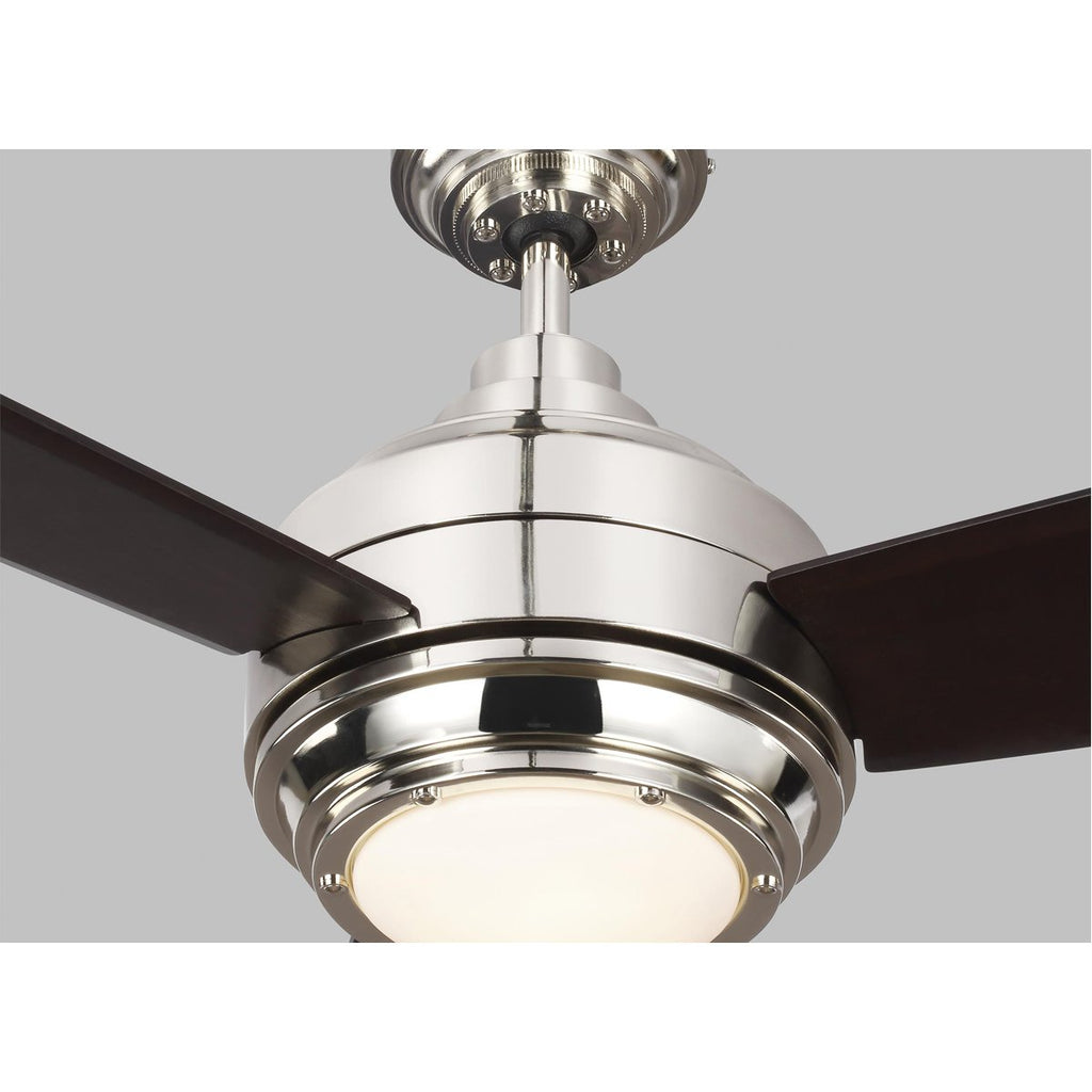 Monte Carlo Fans Aerotour Polished Nickel Ceiling Fan