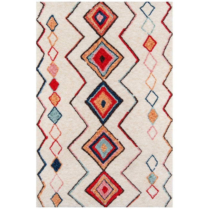Momeni Bungalow Chinese Machine Made BUN-06 Multi Rug