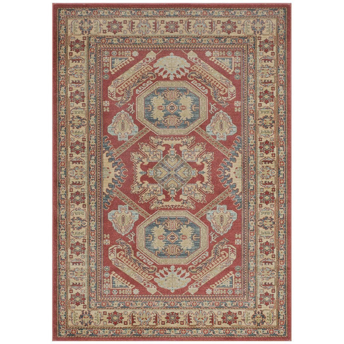 "Momeni Rug Ghazni Machine Made 9'-3"" X 12'-6"" Red Rug"