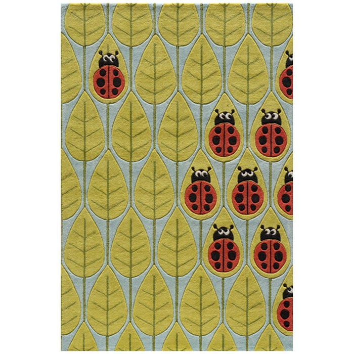 Momeni Rug Hand Tufted Lady Bug Red LMOJULMJ13LBR