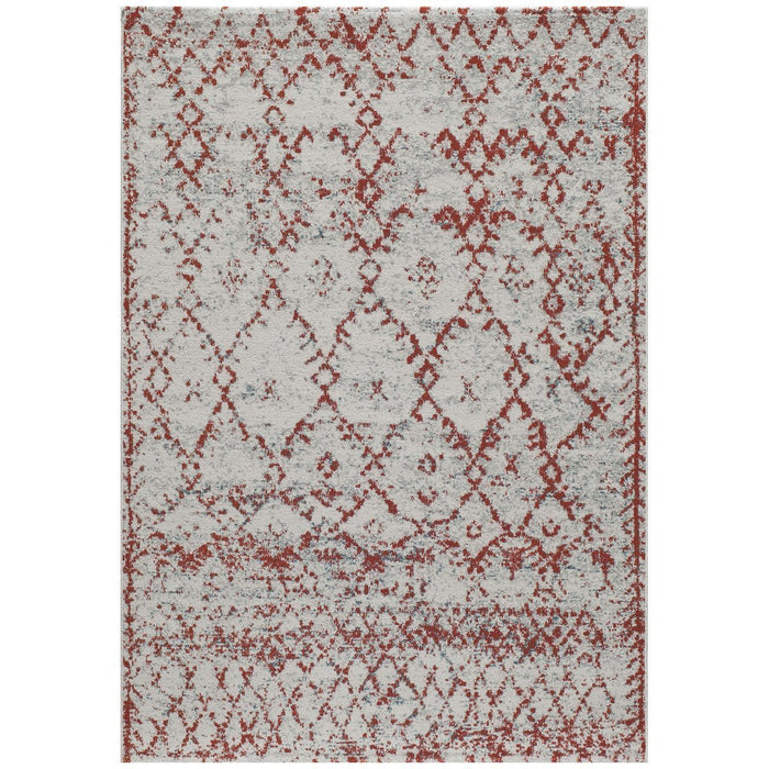 "Momeni Rug Loft Machine Made 9'-3"" X 12'-6"" Rust Rug"