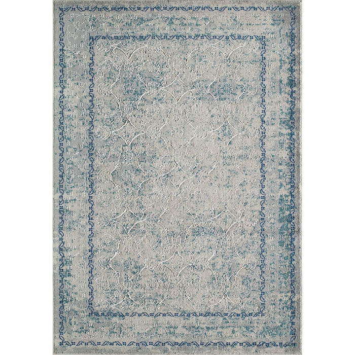 Momeni Turkish Machine Made LX-14 Blue Rug