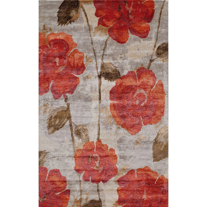 Momeni Indian Hand Tufted MI-10 Red Rug