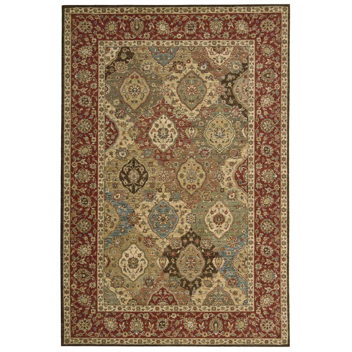 Nourison Living Treasures LI03 Multicolor Rug