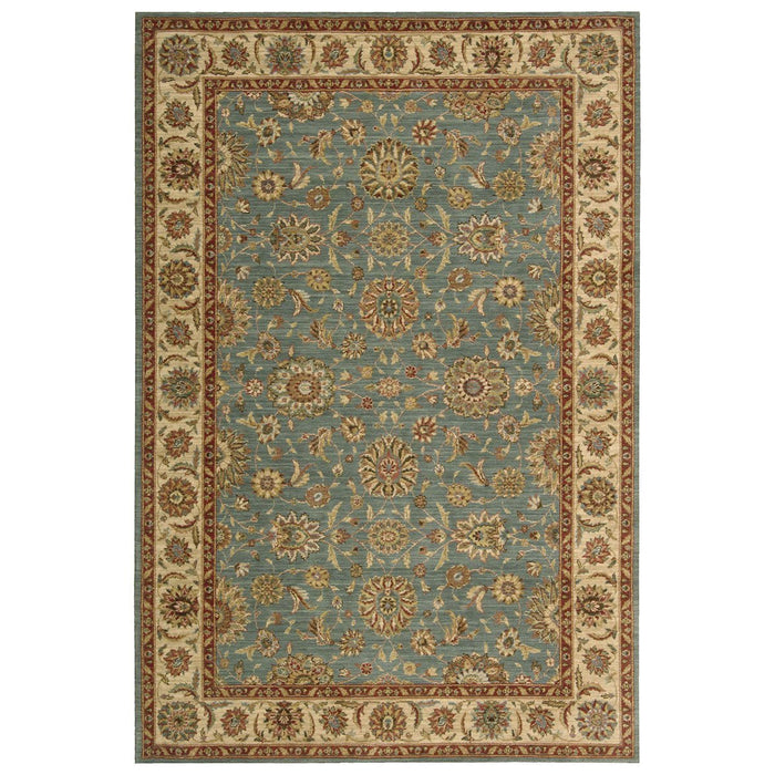 Nourison Living Treasures LI05 Aqua Rug