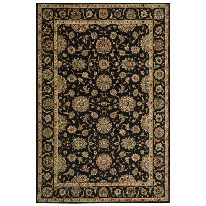 Nourison Living Treasures LI05 Black Rug