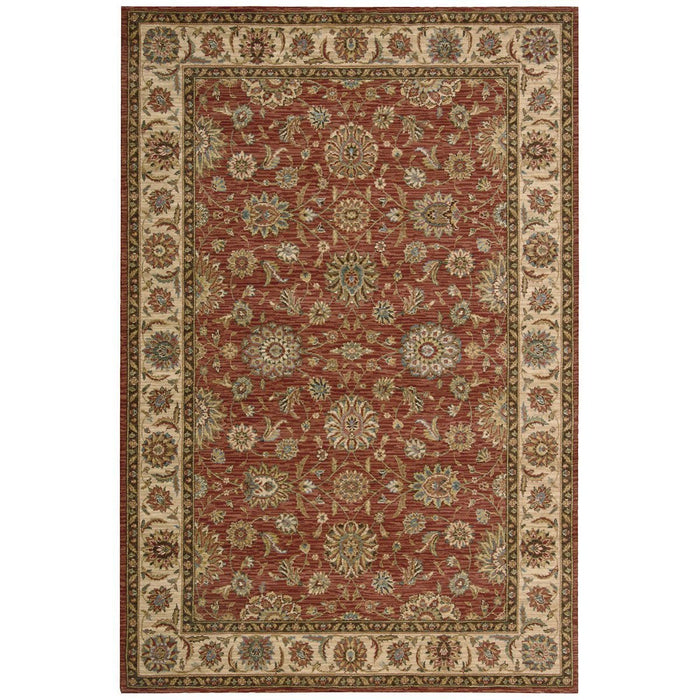 Nourison Living Treasures LI05 Rust Rug