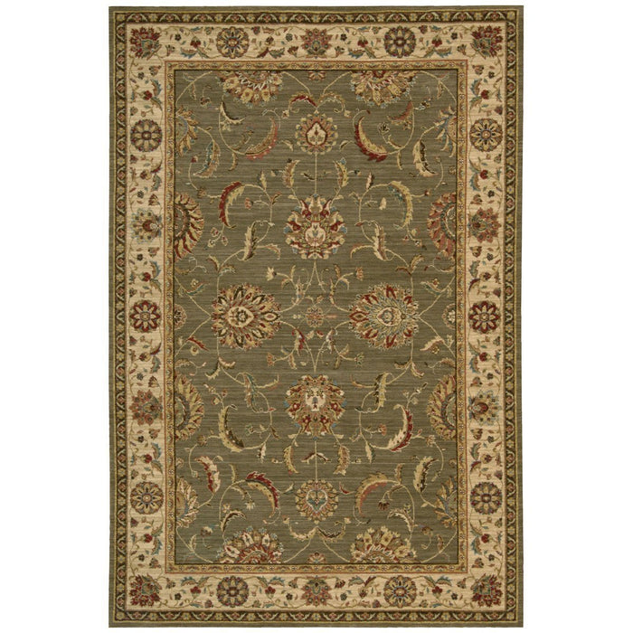 Nourison Living Treasures LI04 Green Rug