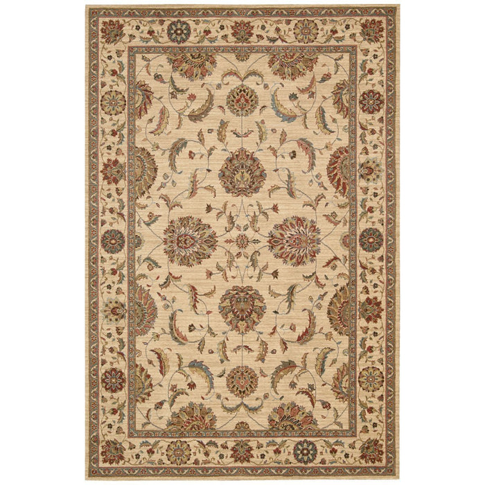 Nourison Living Treasures LI04 Ivory Red Rug