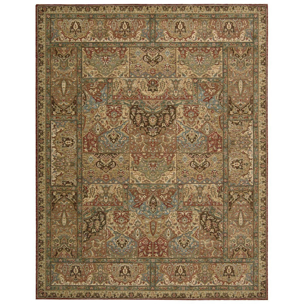 Nourison Living Treasures LI02 Multicolor Rug