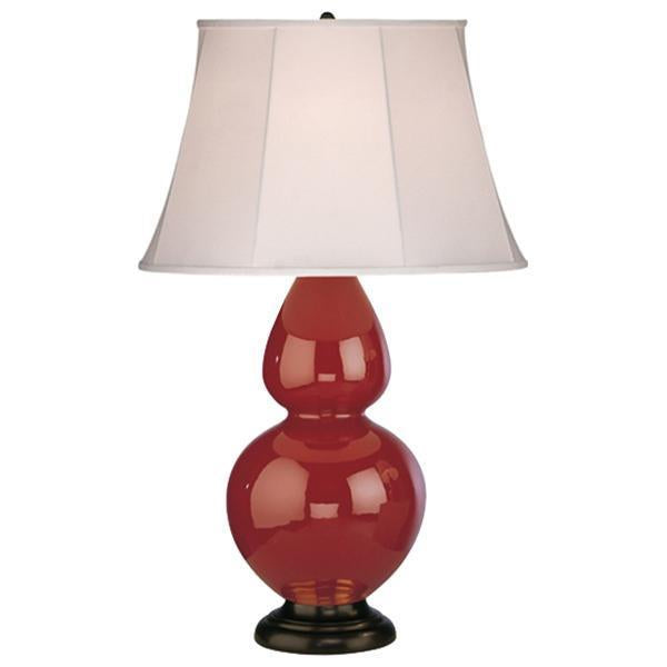 Robert Abbey Double Gourd Table Lamp with Hardback Shade