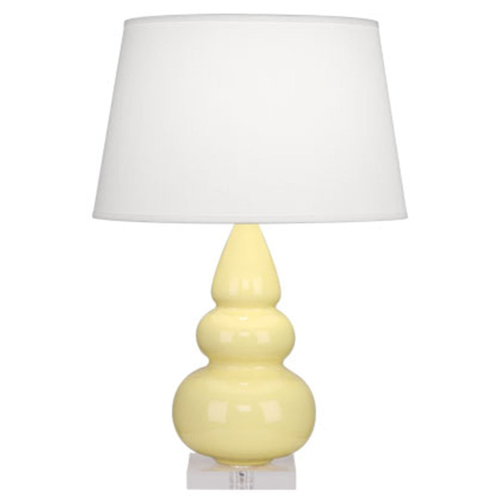 Robert Abbey Small Triple Gourd Accent Table Lamp