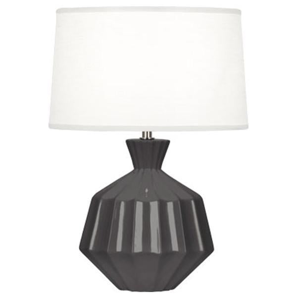 Robert Abbey Fluted Ceramic Orion Table Lamp