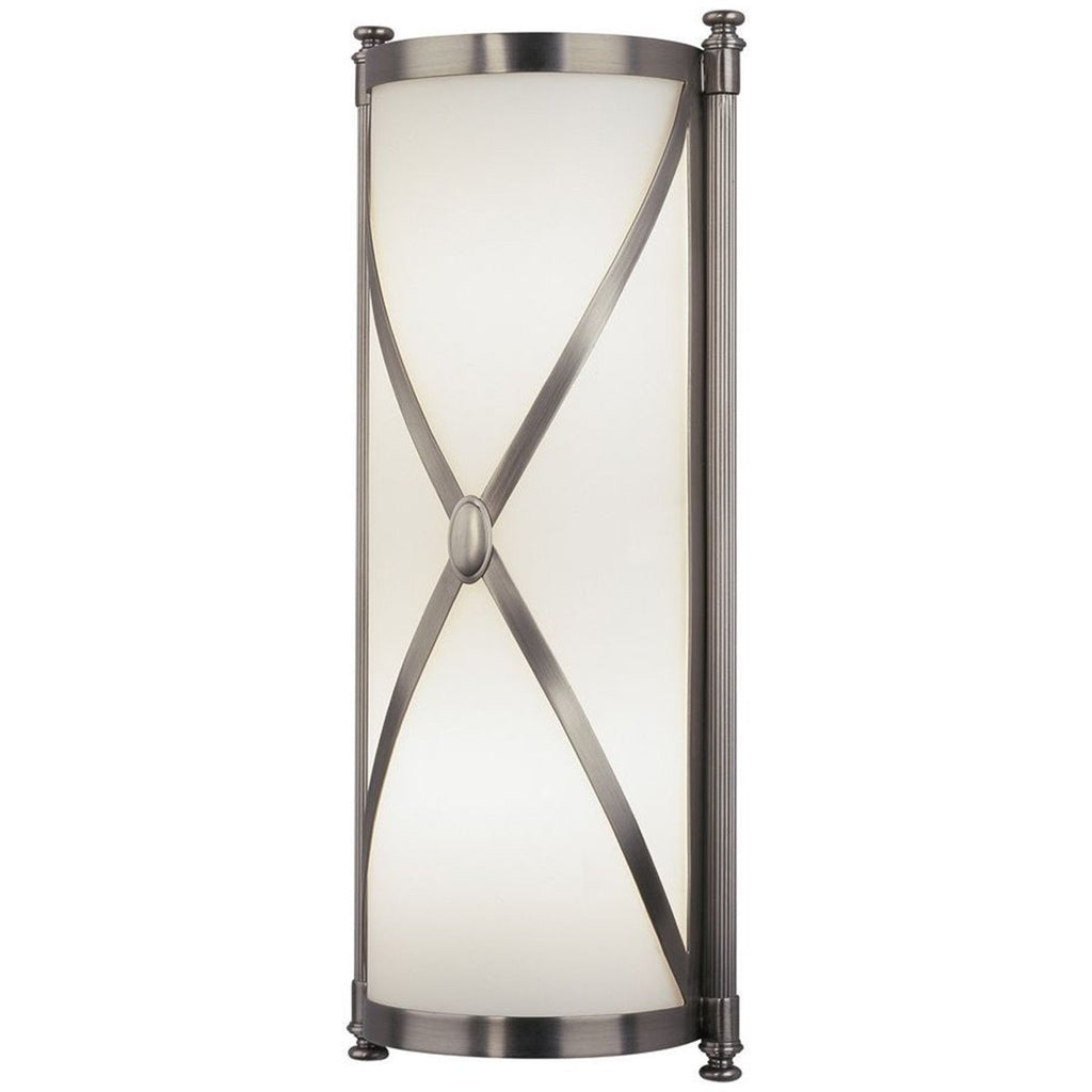 Robert Abbey Chase Half Round Sconce